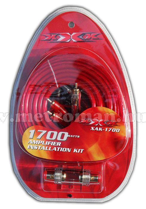 Autó Hi-Fi kábelszett, XAK-1700
