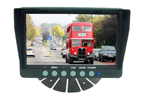 Ipari kivitelű LCD monitor RIS típusú tolatókamerákhoz RIS RM-701S4C