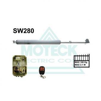 Kétszárnyú komplett kapunyitó szett, Moteck SW-280