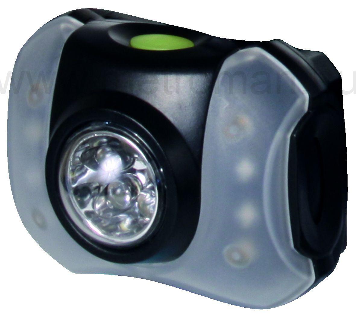 Fejlámpa 5+4 LED HLP5-4L