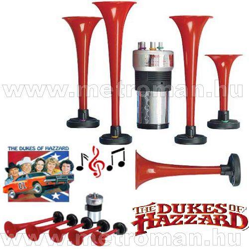 Dixi Horn , 5 szólamú kompresszoros dallamkürt , The Dukkes of Hazzard, Alpex