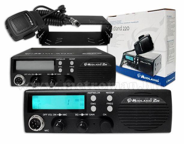 CB rádió, Midland 220