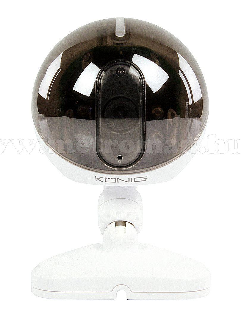 Vezeték nélküli Wifi  IP megfigyelő kamera, König SAS-IPCAM105W