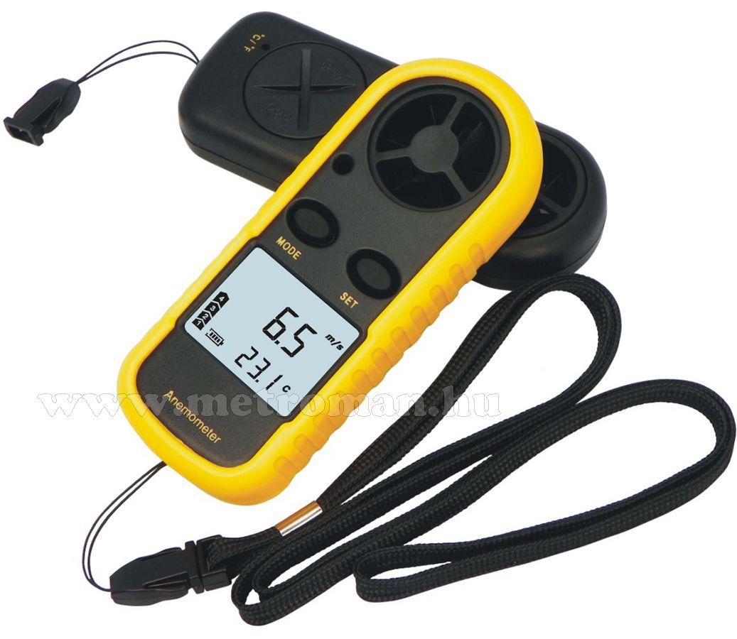 Digitális szélerősség és hőmérséklet mérő Mlogic DT-0110