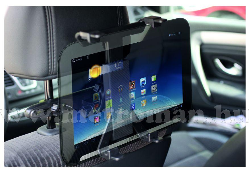 Univerzális tablet, iPad, LCD LED TV autós fejtámla tartó, SA 039