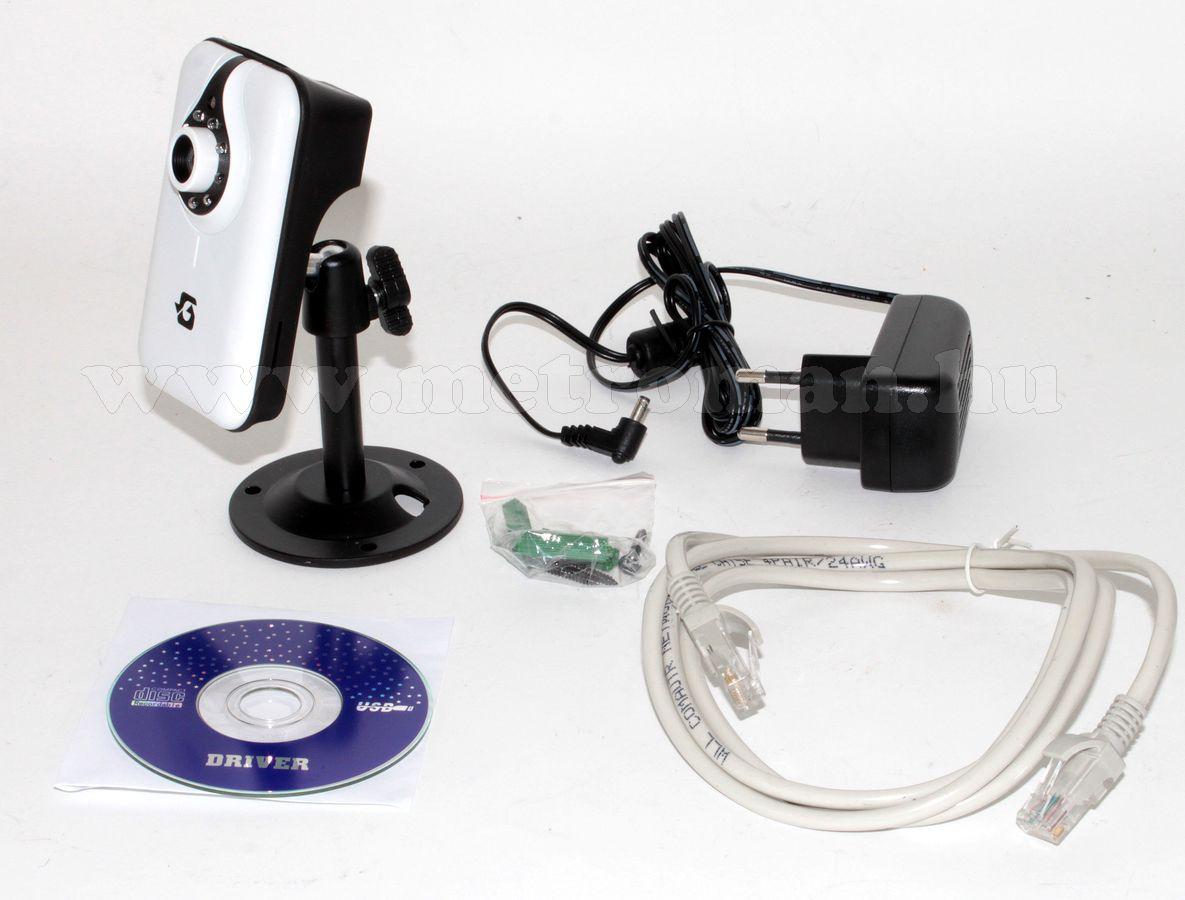 Vezeték nélküli Wifi IP internet, Android, iPhone megfigyelő kamera CR728W