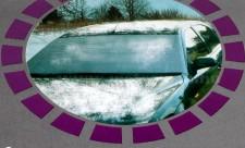 Autós téli szélvédő takaró