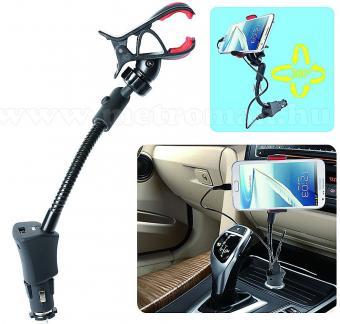 Univerzális PDA, PNA GPS és telefon autóstartó és töltő szett SA 038