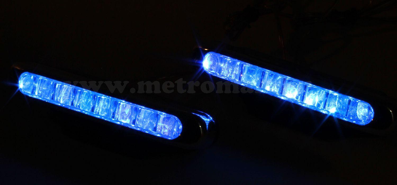 Autós LED lámpa, Kék, KLBD0701B