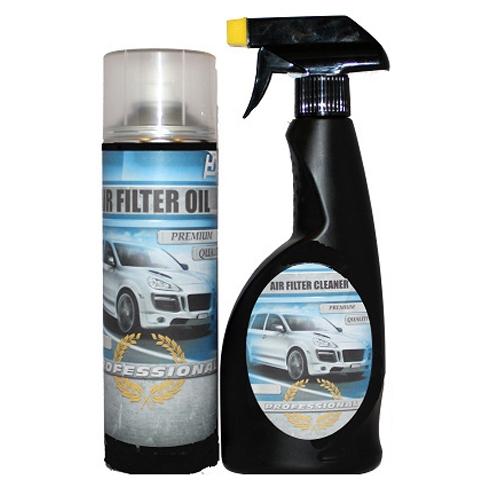 Sport légszűrő tisztító és olajozó készlet LG-MT2500