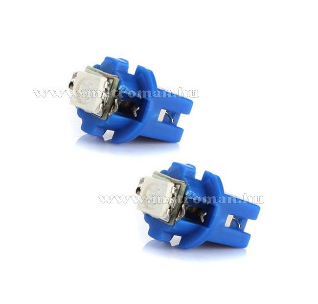 Autó műszerfal SMD LED izzó, Kék, T5 CSL2042B