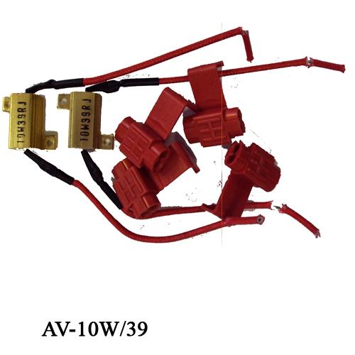 Ellenállás, műterhelés LED izzókhoz, 10 Watt, AV-10W/39