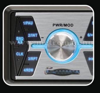 USB / SD MP3 autórádió, VoxBox VB 3000