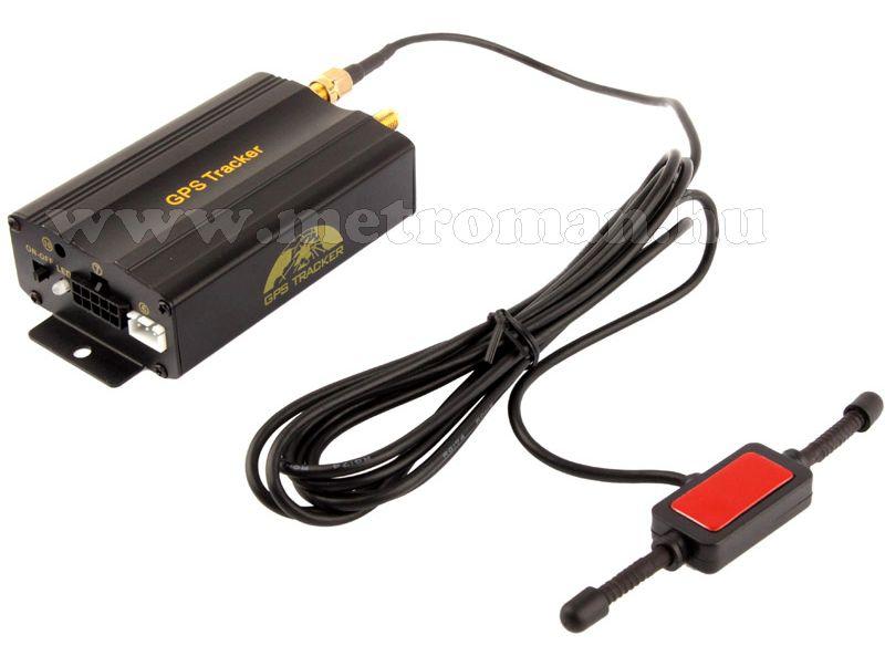 GSM / GPS nyomkövető és riasztó GPS-103B