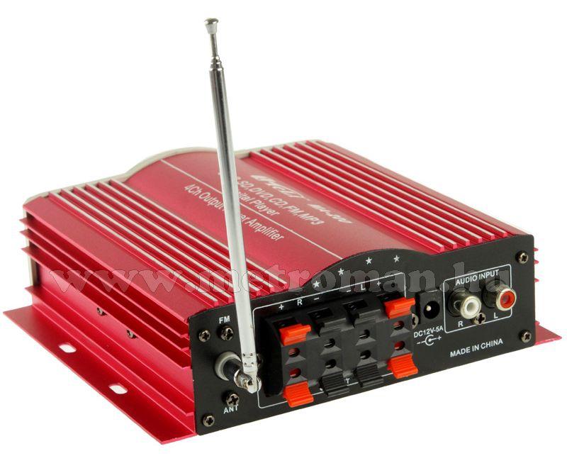 hogyan lehet egy erősítőt csatlakoztatni egy rádióhoz sebesség társkereső indianapolis indiana