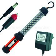 LED szerelőlámpa, 27 LED-es, WL-27A