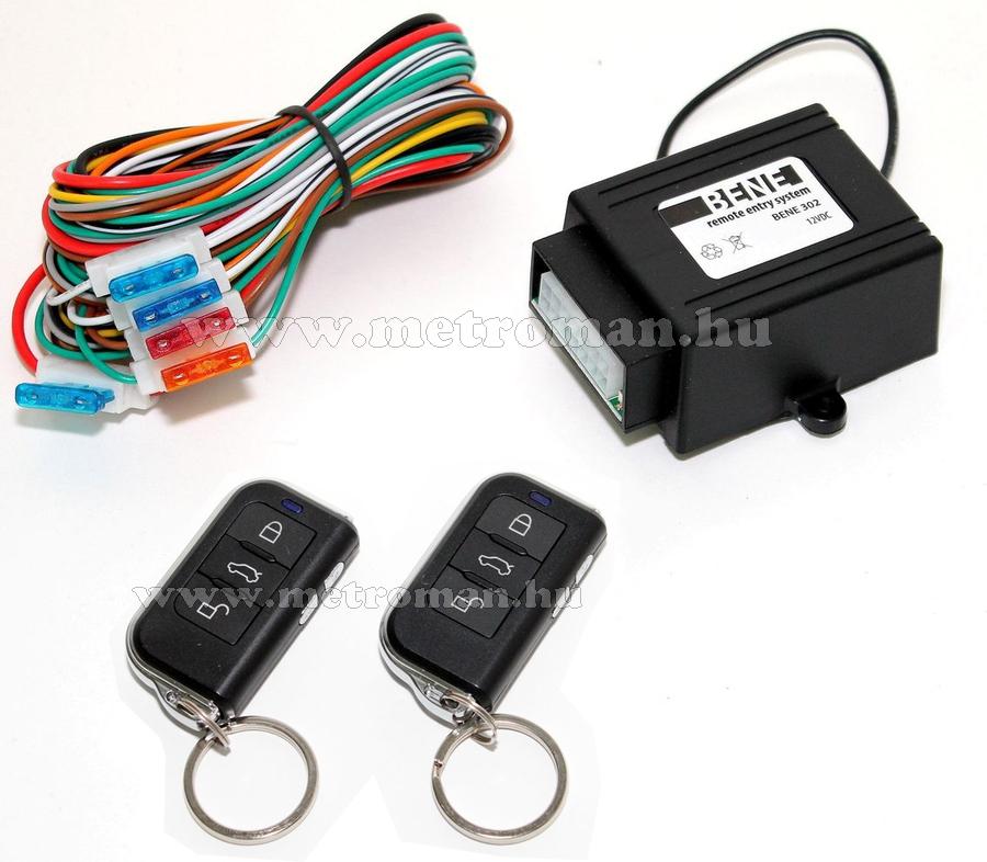 Távirányító központi zár és csörlő vezérlő modul, RC302