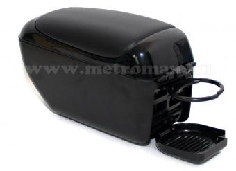 Autós könyöklő, univerzális  kartámasz, 48008BB fekete