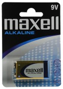 Alkáli elem, 9 V-os, MAXELL 6LR61