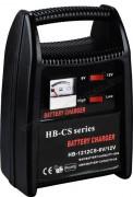 Autó akkumulátor töltő, gyors töltő 6/12 Volt 12A HB1212CS