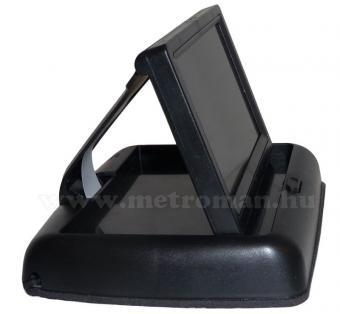 """4,3""""-os TFT LCD monitor tolatókamerához, JVJ PZ-704"""