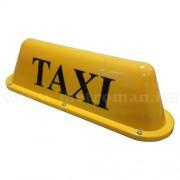Világító Taxi lámpa, mágneses
