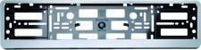 Rendszámtábla tartó keret, ezüst MM-0084