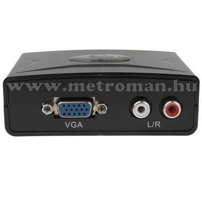 HDMI / VGA átalakító, Konverter Mlogic PC-0402