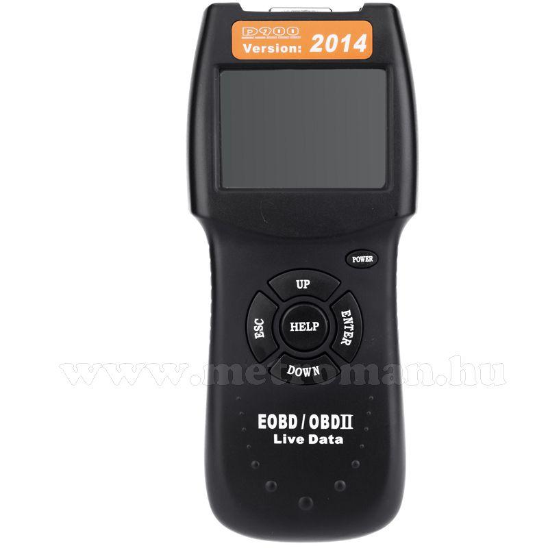 Autó hibakódolvasó diagnosztikai műszer, D900