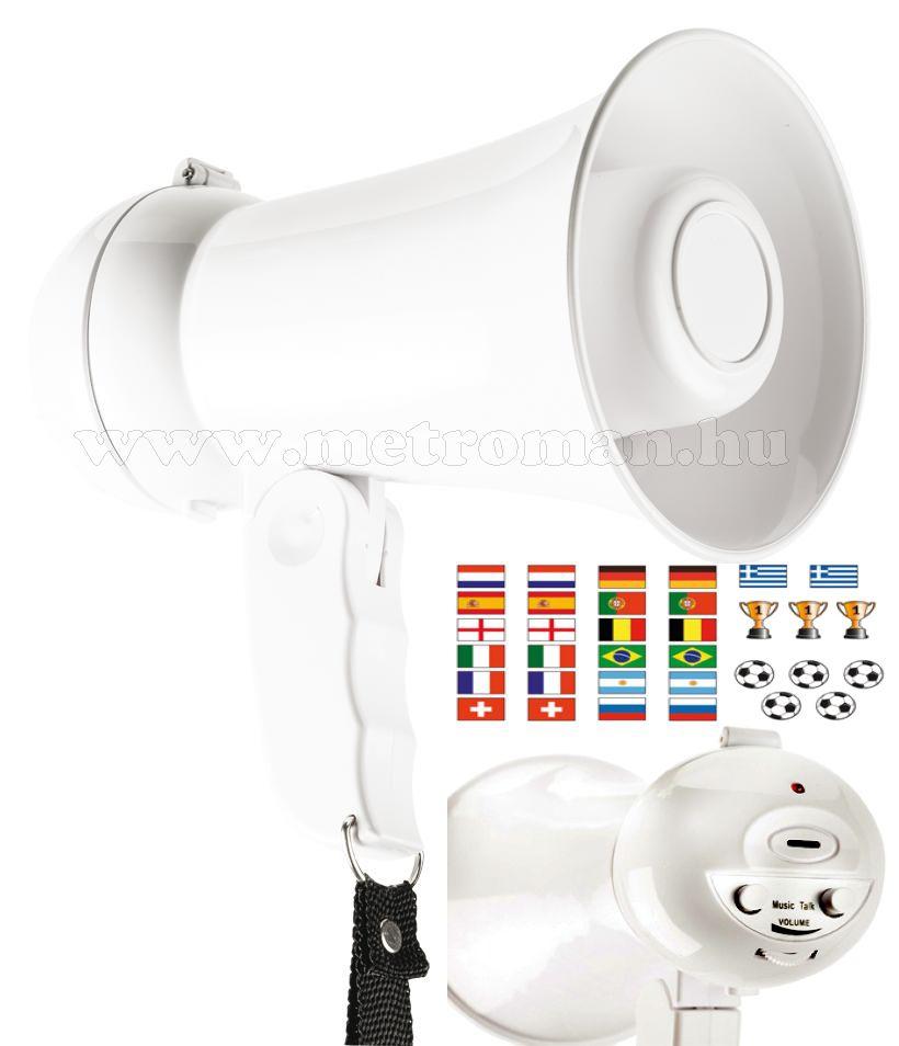 Kézi hangosbeszélő, megaphone , VB szurkolói változat, MP100