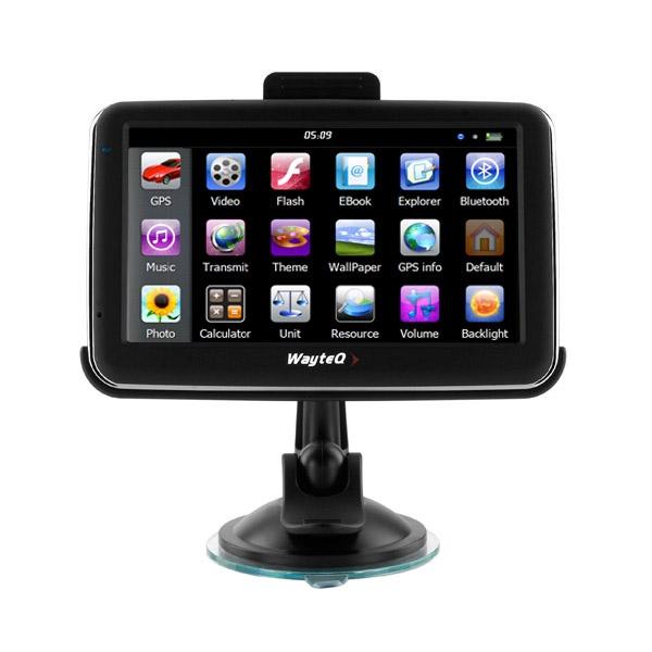 Wayteq x980BT GPS Navigáció, Bluetooth, 8 Gb memóriával