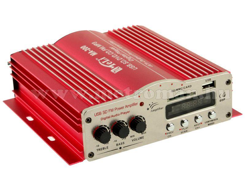 Mozgóbolt kihangosító szett MP3 USB lejátszóval MA-200+2XLP30W