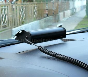 Autós Piros-Kék stroboszkóp LED villogó szélvédőre, Mlogic MM-132RB