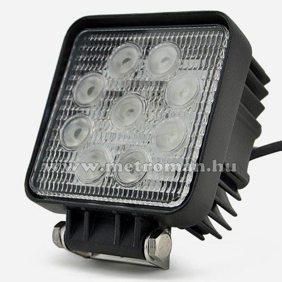 Autó LED fényszóró, 27 Watt , MM-27WSN
