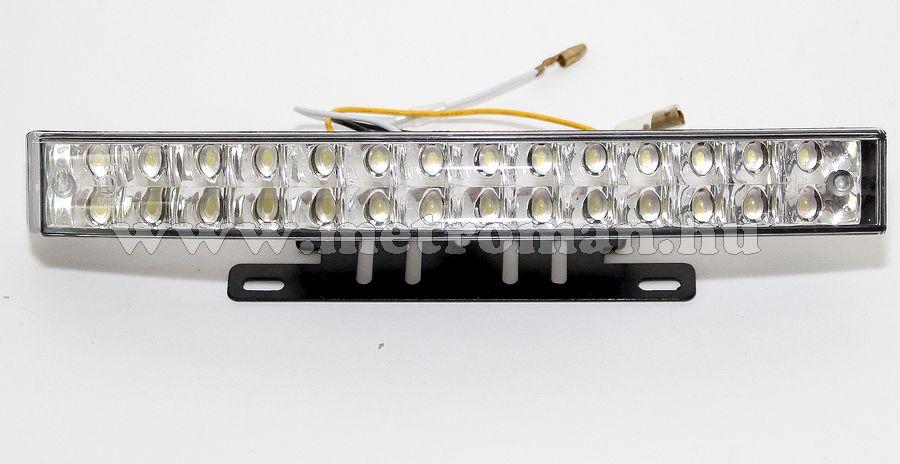 Nappali menetfény LED, DRL, E jeles, M-660 , 24 Volt