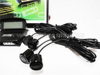 Tolatóradar ,4 szenzoros, Vezeték nélküli LCD kijelzővel, SPY LP208
