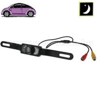 Autós tolatókamera, rendszámtábla keretre, Mlogic CAPS0249