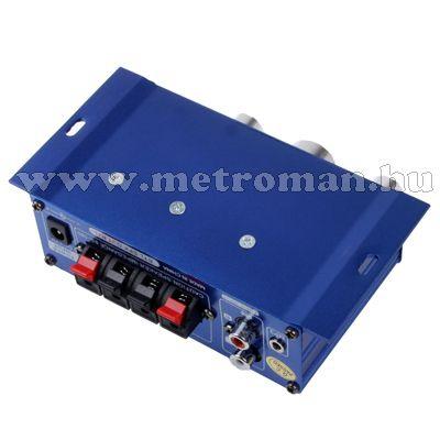 Autós mini erősítő, MP3 bemenettel, Mlogic MA-6
