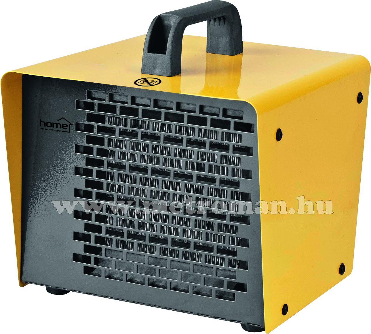 Elektromos ventilátoros fűtőtest, hősugárzó, HOME FK 30