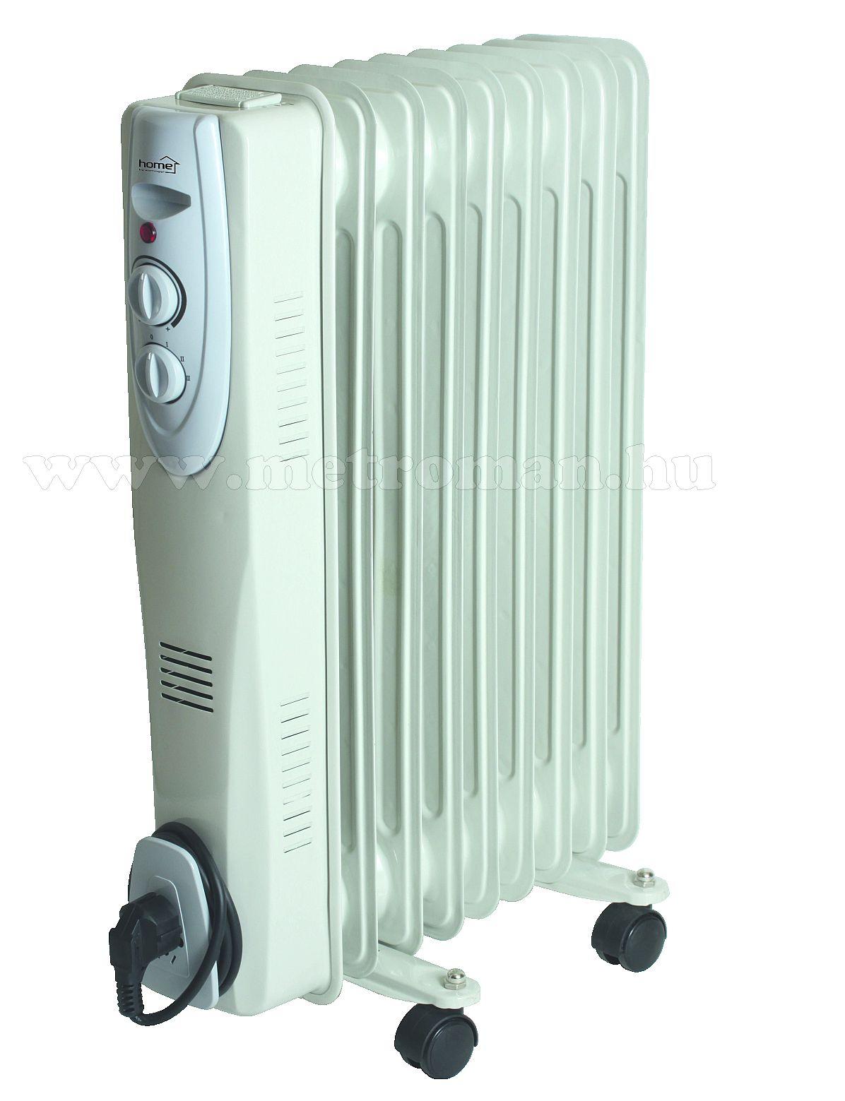 Elektromos olajradiátor, HOME FKOS 9