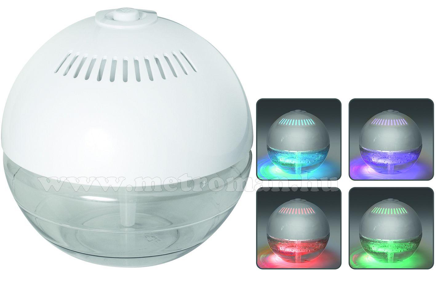 Elektromos párátlanító és légtisztító LED hangulatfénnyel, HOME HP 4