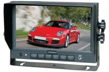 Ipari kivitelű LCD monitor tolatókamerákhoz Sharp Vision SV-MO700127DC