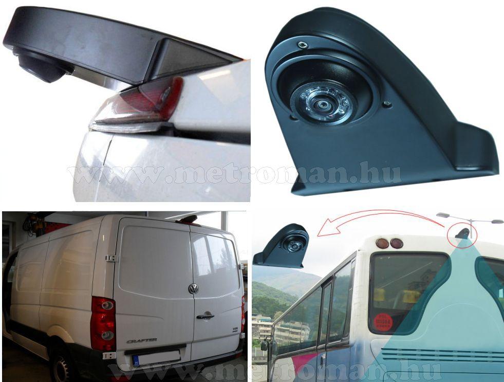 Mercedes Sprinter, VW Crafter és Busz tolatókamera  Sharp Vision SV-CW664CAI