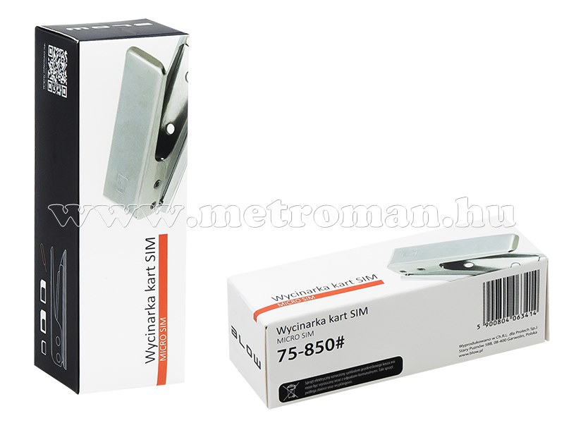 Micro SIM kártya vágó gép és adapter készlet 75-850