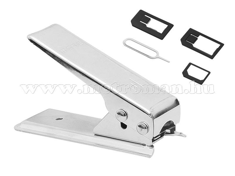 Nano SIM kártya vágó gép és adapter készlet 75-851