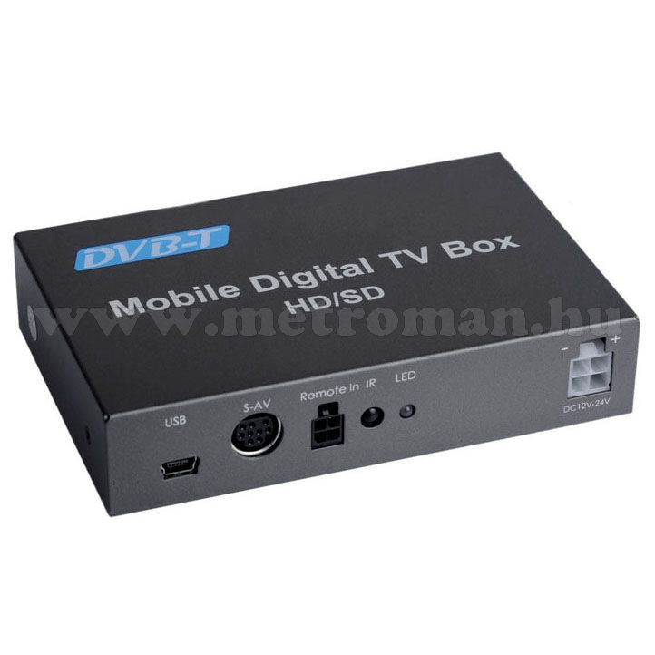 12 Voltos autós DVB-T vevő Set-top Box, Mlogic TT0004