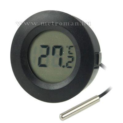 Digitális LCD hőmérő műszer -50 - + 110 °C-ig , Mlogic CA-1192