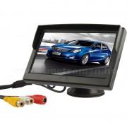 """Univerzális 5""""-os TFT LCD monitor, tolatókamerához Mlogic CLM0103"""