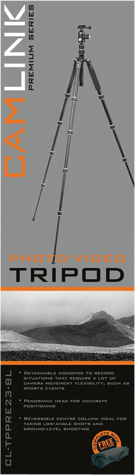 Kamera és fényképezőgép állvány , Camlink CL-TPPRE23-BL