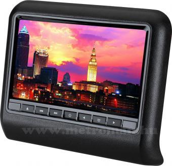 Fejtámlára szerelhető DVD/USB/SD lejátszó  9 coll LCD monitorral JVJ DV-9917